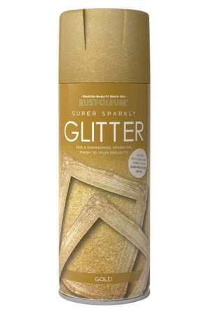 Super Sparkly Glitter Spray Rustoleum Spray Paint