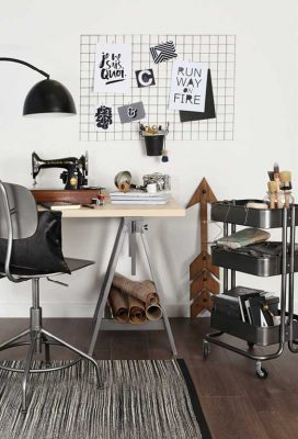 make an industrial statement with metallic gun metal