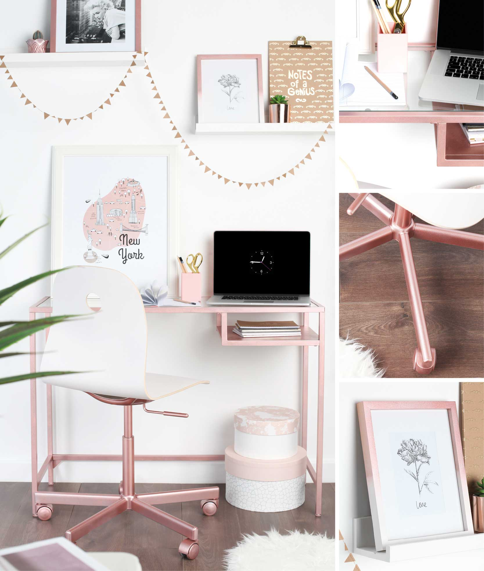 How To Style Your Home The Rose Gold Way Rustoleum Spray