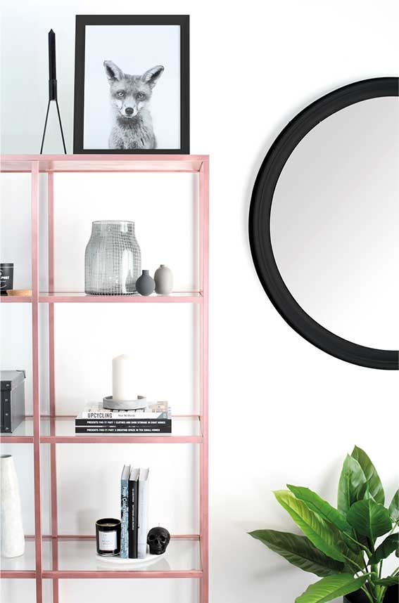how to style your home the rose gold way