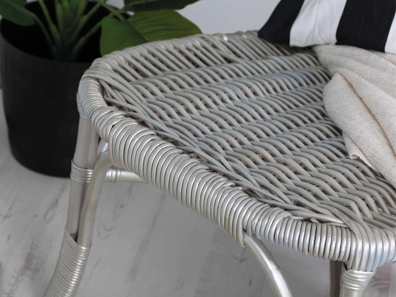 White-Gold-Metallic-Rattan-Chair