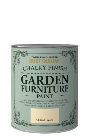 Chalky-Finish-Garden-Furniture-Paint-Clotted-Cream-750ml