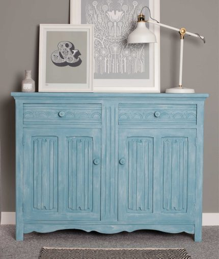 Furniture Finishing Wax (White) - Furniture-Finishing-Wax-White-Sideboard