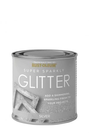 Super Sparkly Glitter Brush Rustoleum Spray Paint
