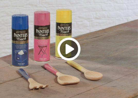 how-to-spray-paint-utensils