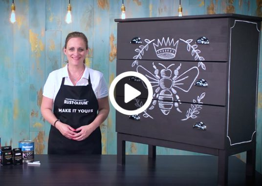 how to make chalkboard drawers