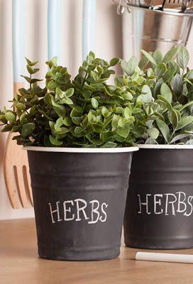 Kitchen Herb Pots st