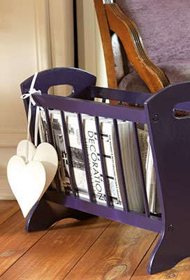 Project Inspiration: Transform A Dated Magazine Rack