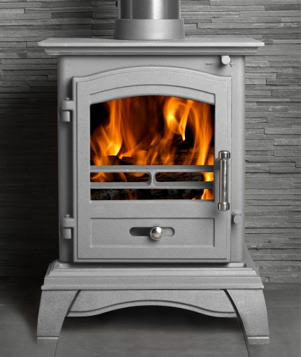 Stove & BBQ Paint - Stove & BBQ Silver Stove
