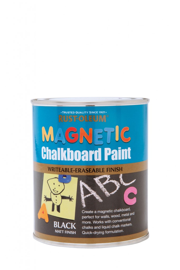 Magnetic Chalkboard Paint Brush Rustoleum Spray Paint