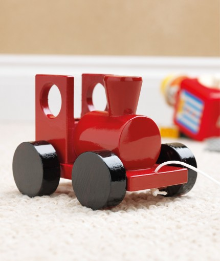 Painter's Touch (Brush) - Cherry Red Toy Train