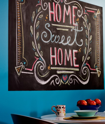 Chalkboard Paint (Brush) - Chalkboard Paint Picture Wall
