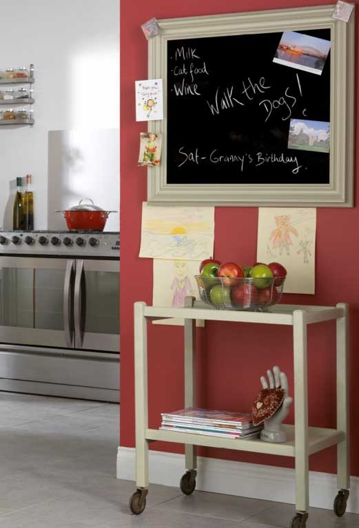 Get Creative With A Kitchen Chalkboard