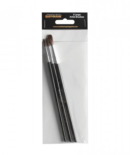 Brushes - 3 large artist brushes