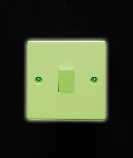 Glow In The Dark (Brush) - Glow In The Dark Light Switch Green