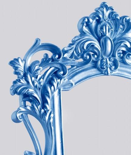 Coloured Metallic - Coloured Metallic Blue Frame