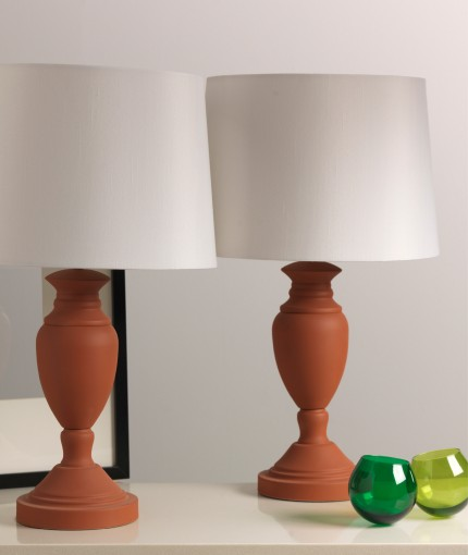 Natural Effects - Natural Effects Terracotta Lamps