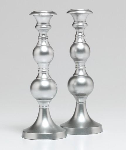 Universal Metallic Paint (Brush) - Universal Metallic Silver Candle Sticks