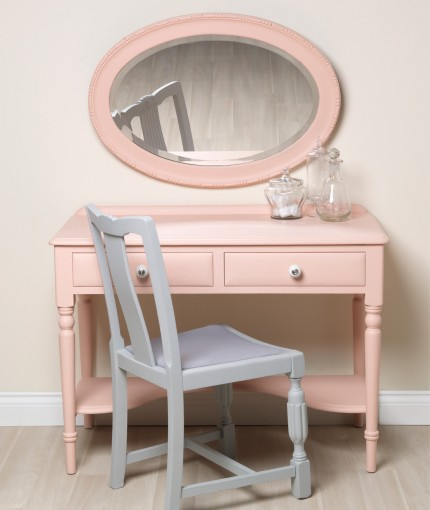 Chalky Finish Furniture Paint - Coral & Flint Dressing Table