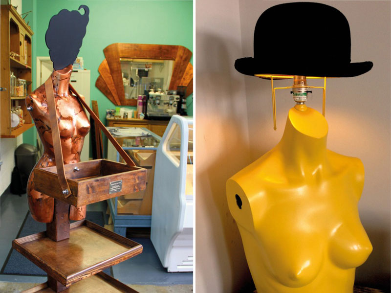 Charis Williams Mannequin Upcycle