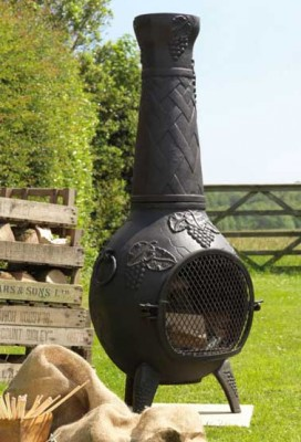 How To Spray Paint A Chiminea