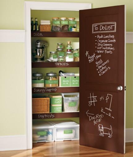 Clear Chalkboard - Clear Chalkboard Paint Door