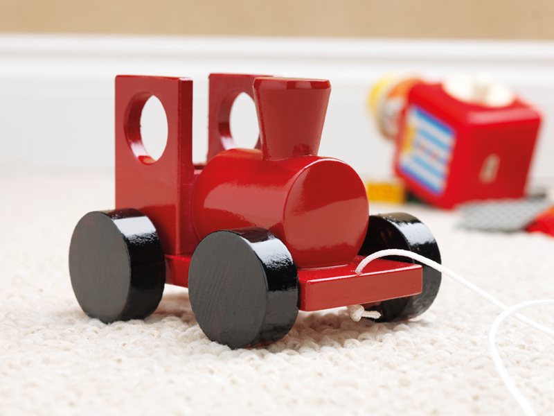 red-toy-train