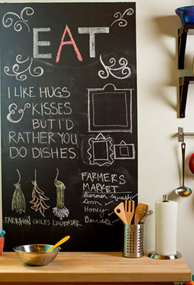 12 Ways To Use Chalkboard Paint