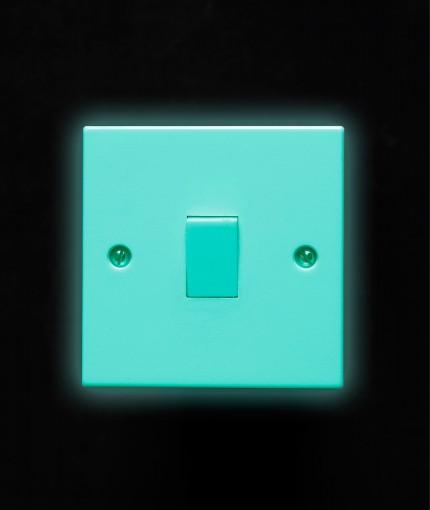 Glow In The Dark - Glow In The Dark Aqua Light Switch