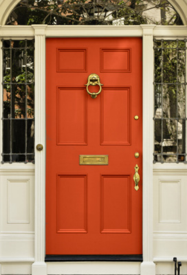 FAB FRONT DOOR MAKEOVERS FOR AUTUMN/WINTER