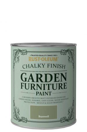 Chalky Finish Garden Furniture Paint Brush Rustoleum