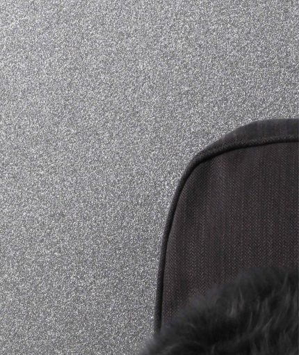 Glitter Feature Wall - Silver-Glitter-Wall-Close-Up