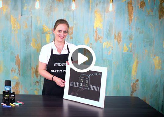 how-to-make-a-chalkboard-frame